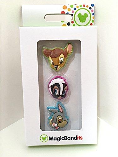 Disney Parks Bambi Flower Thumper Magic Band Bandits Set of 3 Charms