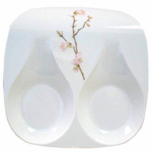 Corelle Coordinates Double Spoon Rest, Cherry Blossom by Corelle Coordinates
