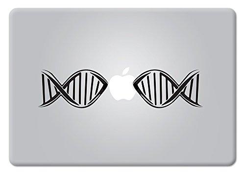 DNA Biology Decal Lab Microscopy Research Nanotech Analytical Helix Biotech Bioscience Apple Macbook Laptop Decal Vinyl Sticker Apple Mac Air Pro - Labs Dna