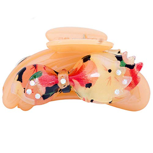 Womens Hair Claw Clamps Hair Clip Pin Butterfly Claws Clamp Banana Ponytail (Styles - #8) ()