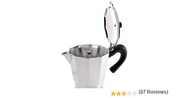 ORYX 5056022 Cafetera Inducción Aluminio 6 Tazas (300 Ml.): Amazon ...