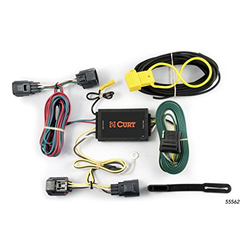 CURT 55562 Vehicle-Side Custom 4-Pin Trailer Wiring Harness for Select Dodge Magnum
