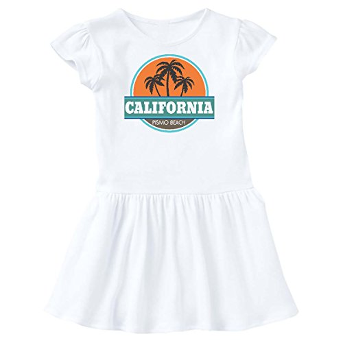 inktastic Pismo Beach California Toddler Dress 4T White - Pismo Beach Of City