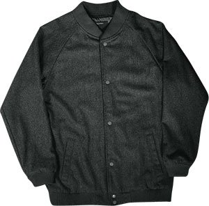 Fourstar Hyde Jacket [Small] Wool/Satn Button - Up Sale