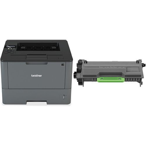 Printer and High Yield Black Toner Bundle by Brother
