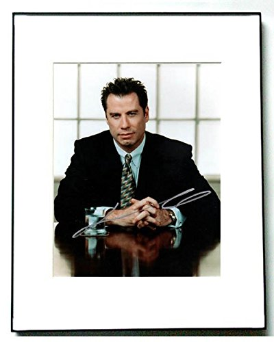 John Travolta Autographed Elegant Signed Framed Photo AF AFTAL - PSA/DNA - Signed Elegant