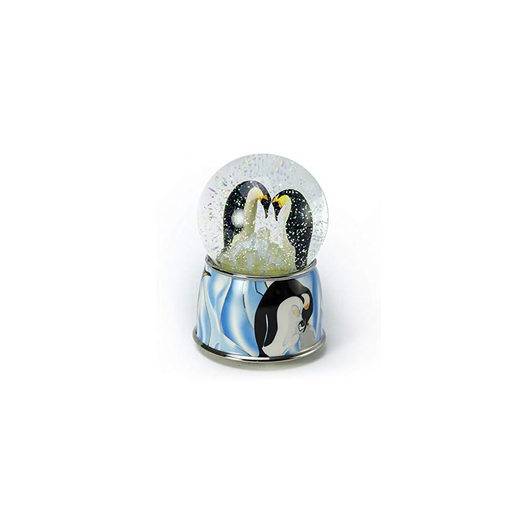 Penguin Pair Musical Water/Snow Globe By Twinkle, Inc.