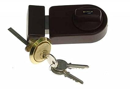 GERDA, cerradura para buzón, cierre adicional para puerta ...