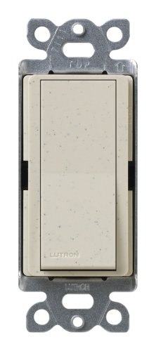- Lutron SC-3PS-LS Diva 15-Amp, 120-Volt to 277-Volt 3-Way Switch in Limestone