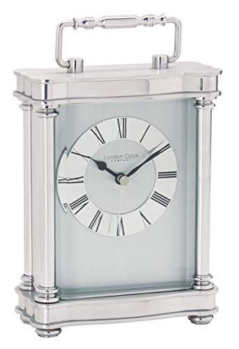 London Clock - Silver Finish Carriage Clock by London Clock