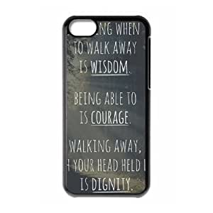 Words To Live By iPhone 5C Case Black Yearinspace020831