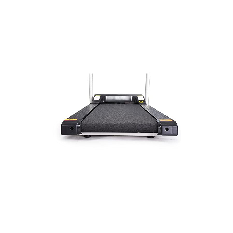 Lontek Compact electric treadmill for small spaces 90 degree folding motorized running machine