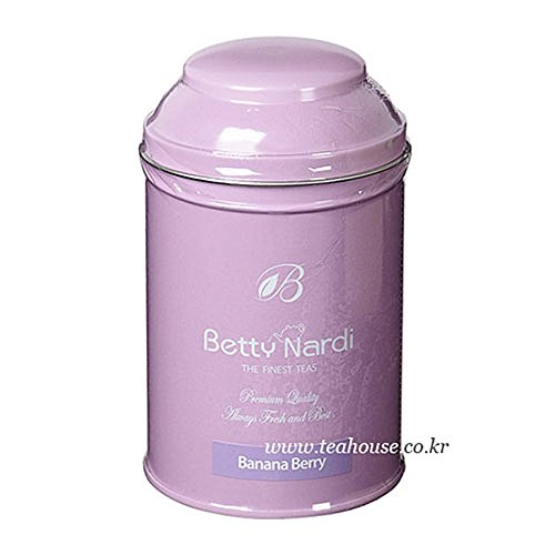 (Betty Nardi Herbal Tea - Banana Berry 80g, Rooibos 85%)