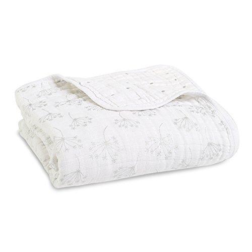 aden + anais Dream Blanket, Metallic Silver
