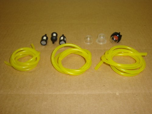 188-512-1 LOT 0057004 188-12-1 Primer Bulbs with 2 feet of each 6618 6617 6616 Tygon Fuel Lines and 3 ZF-1 Fuel Filters