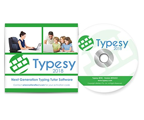 Typesy Typing Software: 2018 CD Version [Amazon Exclusive]