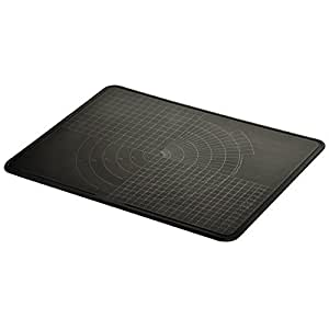 Homasy TPU Anti-Bacterial Cutting Board, Thick Yet Flexible, Knife Friendly, Scratch Resistant, Non-Slip, Juice Groove, Dishwasher Safe, FDA Approved