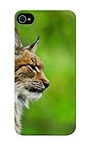 BifWdj-1443-BwBNU Anti-scratch Case Cover Flyinghouse Protective Lynx Wild Cat Case For Iphone 5/5s