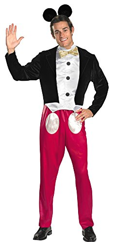 [Adult-Costume Mickey Mouse Adult Costume 42-46 Halloween Costume] (Mickey Mouse Halloween Costumes For Men)