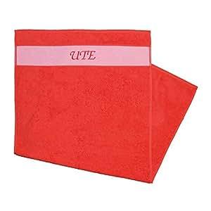 Toalla Impreso con nombres Ute Rojo