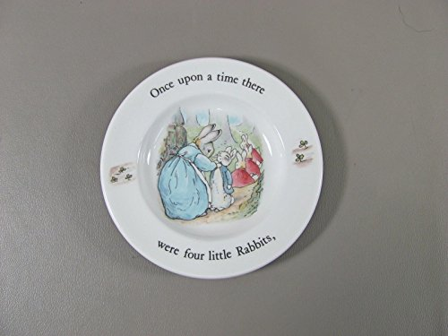 Wedgwood China PETER RABBIT Child's Plate(s) Multi Avail Excellent