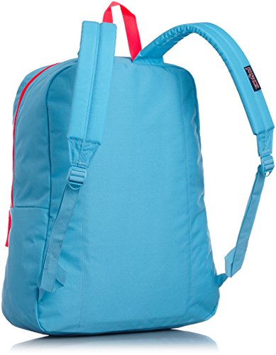 Jansport Overexposed Mammoth Blue/Fluorescent Red T08W0CU by JanSport (Image #2)