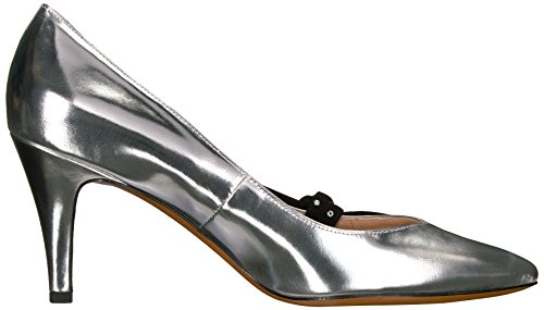 Toe Women's Silver Marc Pump Pointy Daryl Jacobs fgwp0q