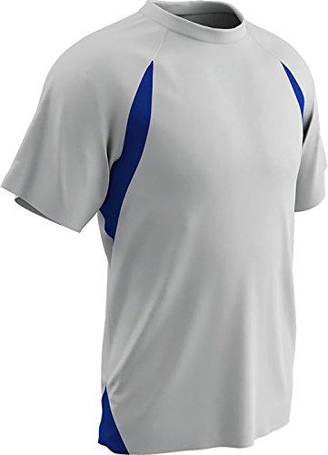 Champro Herren Dri-Gear Full Cut T-Shirt, Jersey, Größe L, Weiß Königsweiß