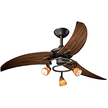 Vaxcel Fn48121or Picard Ceiling Fan 48 Quot Vintage Bronze