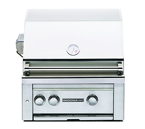 Lynx L400PSR-LP Sedona Propane Gas Grill-On Cart with Pro Sear Burner and Rotisserie, 24-Inch ()