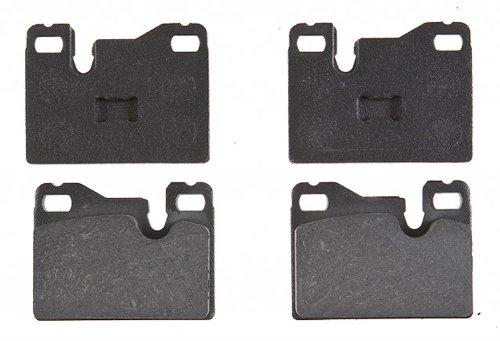 ACDelco 17D445 Professional Organic Rear Disc Brake Pad Set