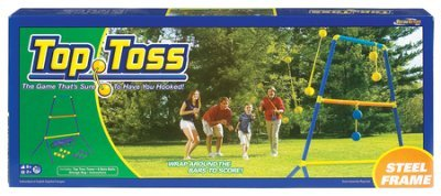 (LearningLAB Ideal Top Toss Bolo Ball Game with 34 Inch Tower and Carrying Case)