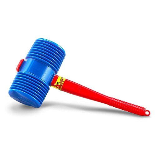 US Toy One Giant Squeaky Circus Carnival Clown Hammer Assorted Color -
