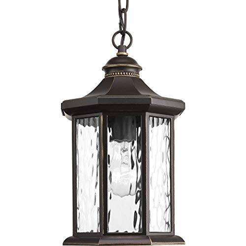 Progress Lighting P6529-20 Traditional/Classic 1-100W Med Hanging Lantern, Antique Bronze