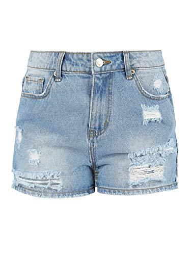 Shorts di jeans strappati Jeans