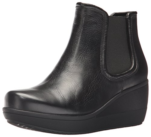 Mara Collection (CLARKS Women's Wynnmere Mara Ankle Bootie, Black Leather, 9 M US)