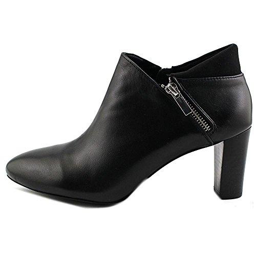 Fashion Leather Ankle Black Toe Closed Alfani Womens Boots Errane xYZanpC