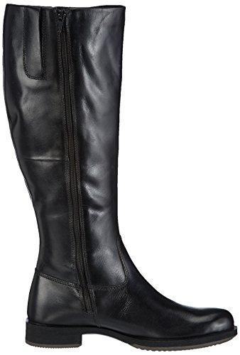 Ecco SAUNTER, Stivali altezza metà polpaccio Donna, Nero (Schwarz (BLACK 21001)), 39