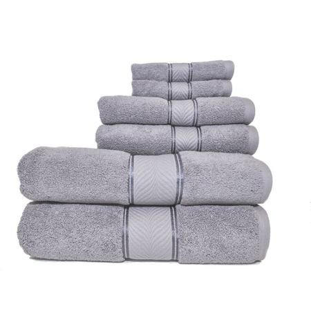 Better Homes And Gardens Thick And Plush 6 Piece Egyptian Cotton Bath Towel  Set