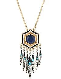 Native American Boho Dreamcatcher Crystal Charms Long...