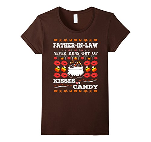 Father Daughter Halloween Costumes (Womens Halloween Costumes For Men. Father-In-Law Shirt Large Brown)