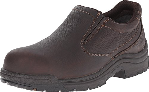 Image of the Timberland PRO Men's 53534 Titan Safety-Toe Slip-On,Camel Brown,11.5 W