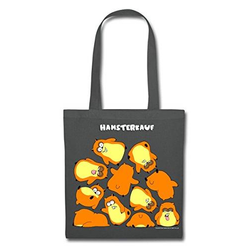 Spreadshirt Hamsterkauf Stoffbeutel Graphite