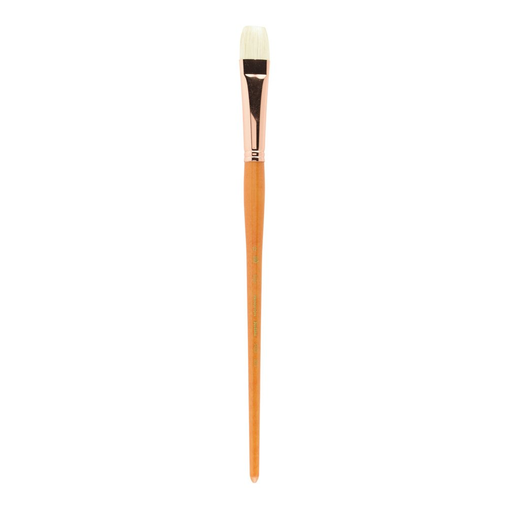 Princeton Refine Artist Brush Series 5400 Natural Chunking Bristle Flat Brushes for Oil and Acrylic Paint Size 20