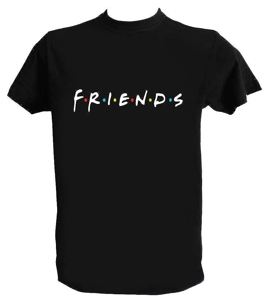 Generico T Shirt Friends Logo Serie TV Anni 90
