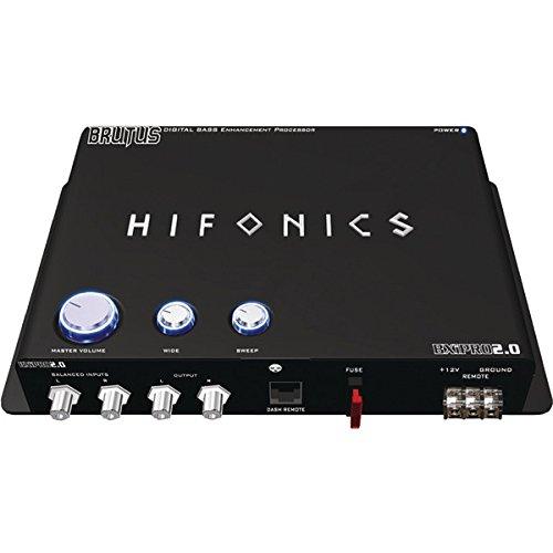 Hifonics Digital Bass Enhancement Processor with Noise-Reduction Circuit BXIPRO - Processor Car Signal Audio