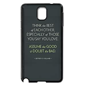 Samsung Galaxy Note 3 Cell Phone Case Black_think_the_best of each other (1) FY1382771