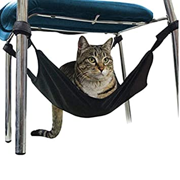 JLFAIRY Cama Colgante para Gatos Estera para Gatos Gatito Suave Y Cálido Cama Colgante Grande Mascota para Gatos Cama para Hamacas para Perros Pequeños ...