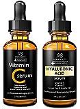 Radha beauty anti aging set- vitamin C and Hyaluronic acid serum