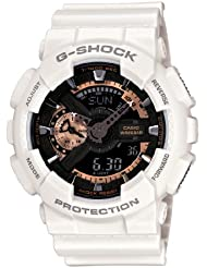 Casio Mens GA110RG-7A G-Shock White Watch